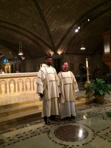 Our Newly Ordained Deacons Brs. James Watson and Jonathan Ulricht, OFM Cap